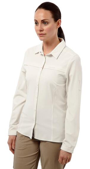 Craghoppers Nosilife Pro - Camisas de manga larga Mujer - blanco